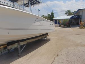 Used Sea Pro 220 Center Console Saltwater Fishing Boat For Sale