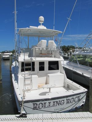 Used Hatteras Sportfish with 2003 Renovation Convertible Fishing Boat For Sale