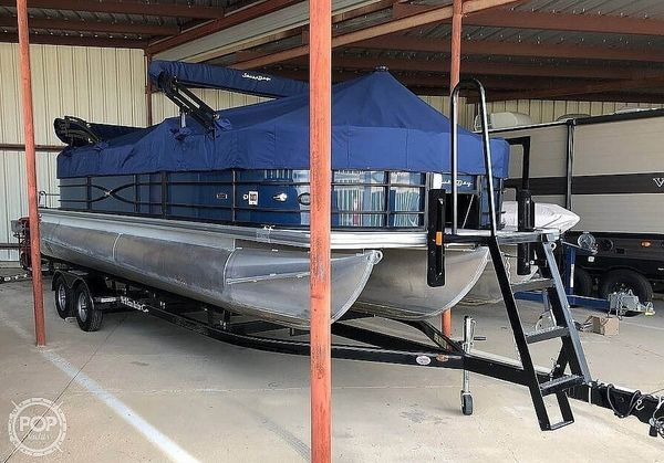 Used South Bay S224 RS 2.75 Pontoon Boat For Sale