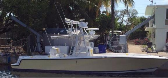 Used Sea Vee 34 CC Saltwater Fishing Boat For Sale