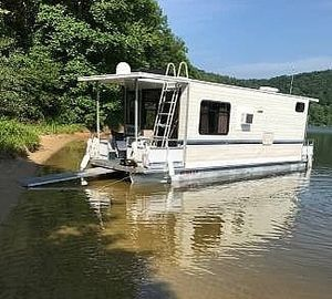 Used Adventure Houseboat 28 House Boat For Sale