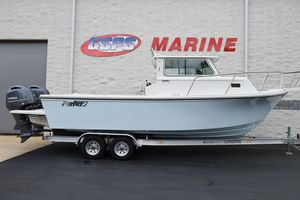 New Parker 2520 XLD Sport Cabin Saltwater Fishing Boat For Sale