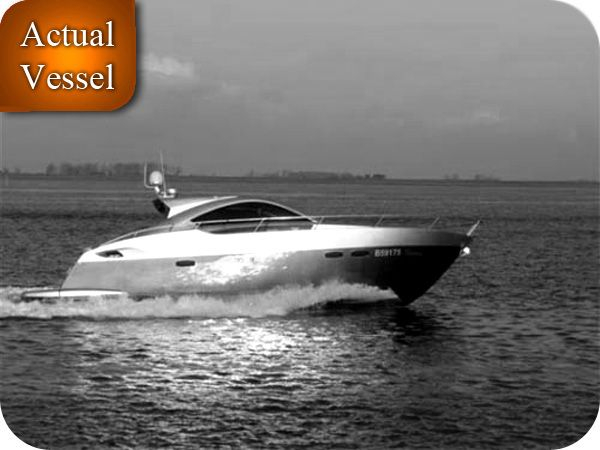 Used Prinz Coupe Express Cruiser Boat For Sale