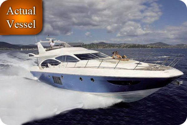 Used Azimut 70 Fly Express Cruiser Boat For Sale