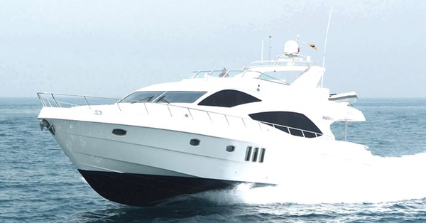 New Majesty Yachts 77 Flybridge Boat For Sale