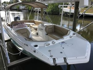 Used Nauticstar 203sc Sport Deck Bowrider Boat For Sale