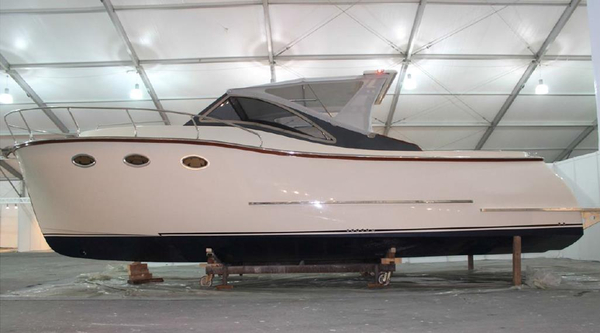 New Erman Yachting Lobster34 Cabrio Open Cruiser Boat For Sale
