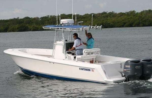 New Contender 30 Tournament Saltwater Fishing Boat For Sale