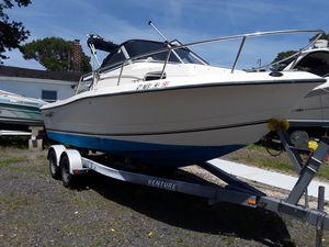 Used Sea Boss 210 Walkaround Fishing Boat For Sale