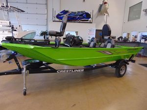 New Crestliner 1700 Ridge Freshwater Fishing Boat For Sale