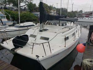 Used Endeavour Intercat Catamaran Sailboat For Sale