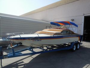 Used Sleekcraft Executive 23 Cuddy Cabin Boat For Sale