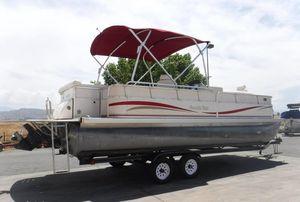 Used South Bay 822CLR TT I/O Pontoon Boat For Sale