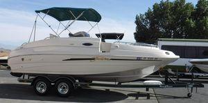 Used Mariah 214 Jubilee Deck Boat For Sale