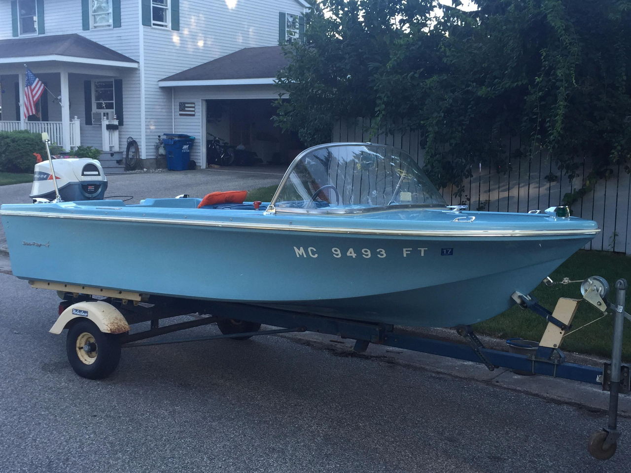 1965 used sea ray 500 other boat for sale 3 900 for Outboard motors for sale in michigan