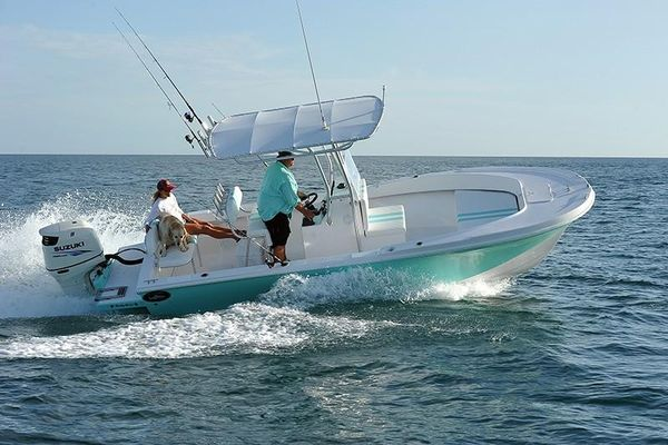 Used Dusky 227 Center Console Fishing Boat For Sale