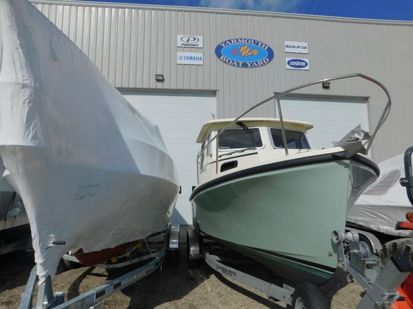 Used Eastern 22 SISU Downeast Fishing Boat For Sale