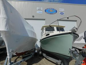 Used Eastern 22 SISU Downeast Fishing Boat For Sale