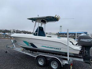 Used Aquasport 202cc Center Console Fishing Boat For Sale