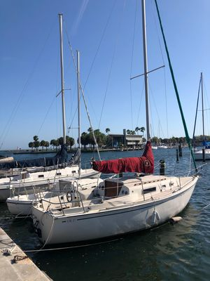Used Cal 27 Mkiii Sloop Sailboat For Sale