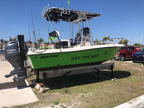 Used Sea Pro 180 Center Console Center Console Fishing Boat For Sale