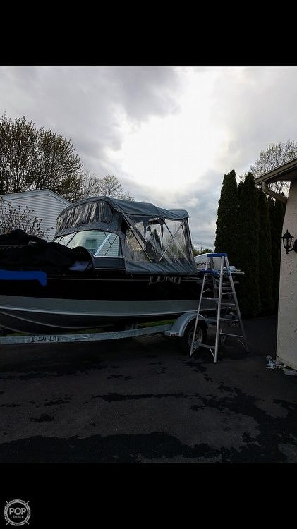 Used Lund 1800 Sport Angler Aluminum Fishing Boat For Sale