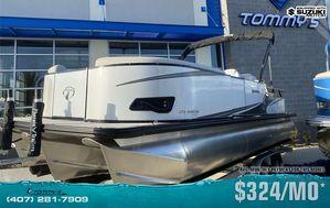New Tahoe 2485 LTZ Rear Lounger w/Suzuki 200hp Motor Pontoon Boat For Sale