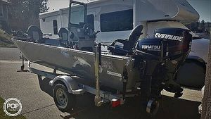 Used River Hawk Pro V18 Aluminum Fishing Boat For Sale