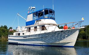 Used Monk 36 Trawler Cruiser Boat For Sale
