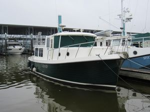"Used American Tug ""34"" Pilothouse Trawler Boat For Sale"
