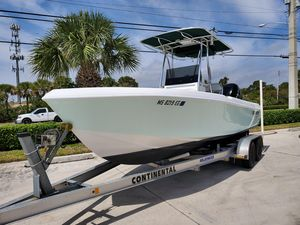 Used Blue Water 2150 CC Center Console Fishing Boat For Sale