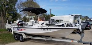 Used Blue Wave 220 Deluxe Pro Center Console Fishing Boat For Sale