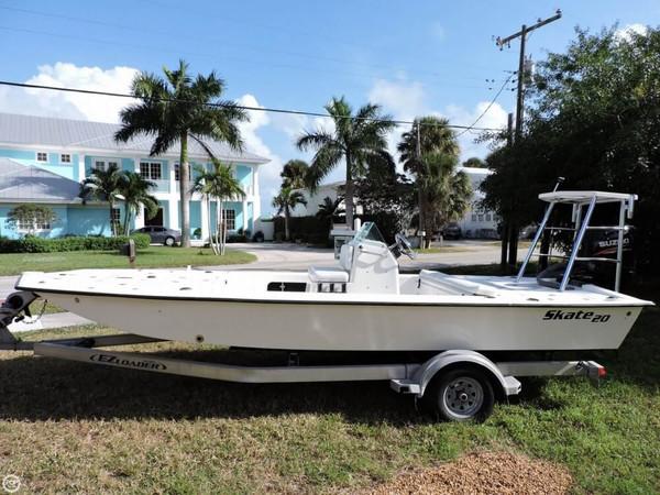 Used Renegade Skate 20 Power Catamaran Boat For Sale
