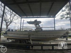 Used Leblanc Boat Works 31 Aluminum Fishing Boat For Sale