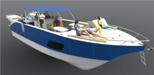 Used Yachtcat 41 Power Catamaran Boat For Sale