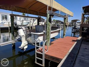 Used Stott Craft SCV 2160 Flats Fishing Boat For Sale