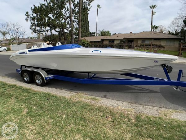 Used Custom Offshore 24 Jet Boat For Sale