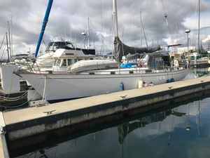 Used Kelly Peterson 44 Center Cockpit Cruiser Sailboat For Sale