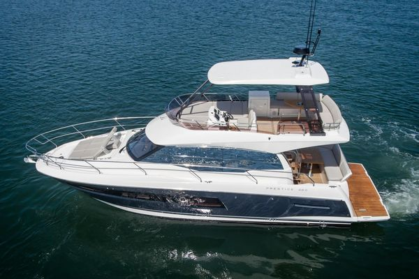 New Prestige 460 Fly Motor Yacht For Sale