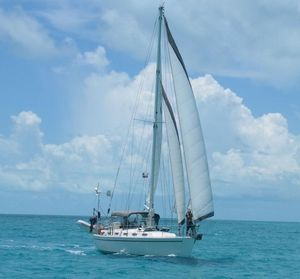 Used Nautical Development Offshore 40 Cruiser Sailboat For Sale