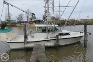 Used Stamas 33' Shrimp Conversion Commercial Boat For Sale