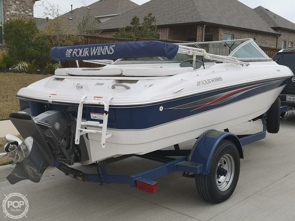 Used Four Winns H183 Fish & Ski Bowrider Boat For Sale