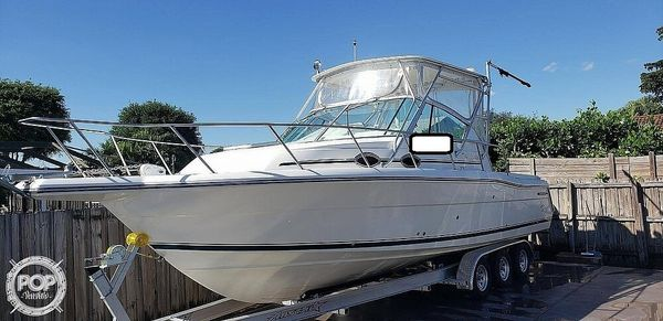 Used Stamas 290 Express Walkaround Fishing Boat For Sale