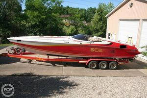 Used Scarab 34 Excel High Performance Boat For Sale
