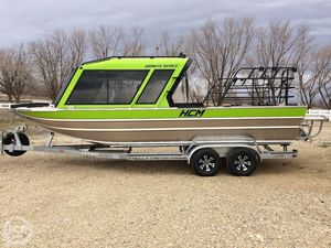 Used Hells Canyon Marine Granite 24 Aluminum Fishing Boat For Sale