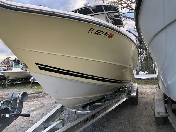 Used Triton 2895 CC Saltwater Fishing Boat For Sale