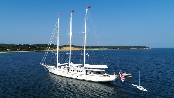 Used Palmer Johnson Tri-Masted Staysail Antique and Classic Sailboat For Sale