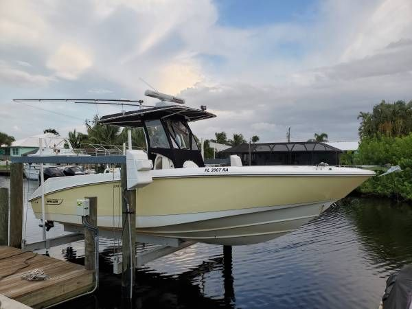 Used Boston Whaler 270 Outrage Saltwater Fishing Boat For Sale