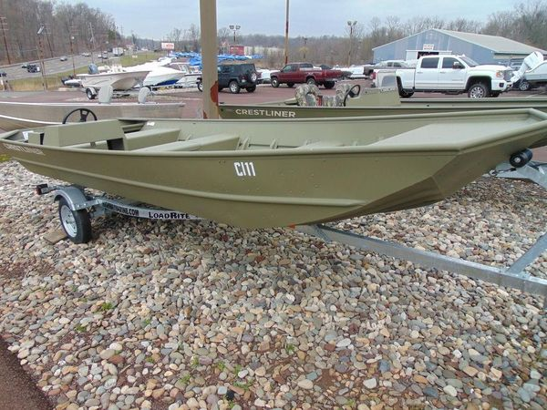 New Crestliner 1852 Side Console Jon Boat For Sale