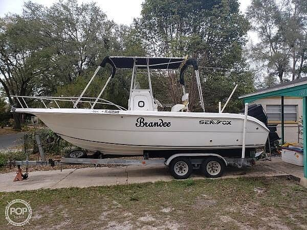 Used Sea Fox 230 Center Console Fishing Boat For Sale
